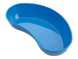 KIDNEY BASIN PLASTIC BLUE AUTOCLAVABLE  20CM