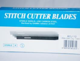 Stitch cutter blades long