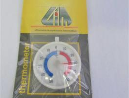 Thermometer fridge round face